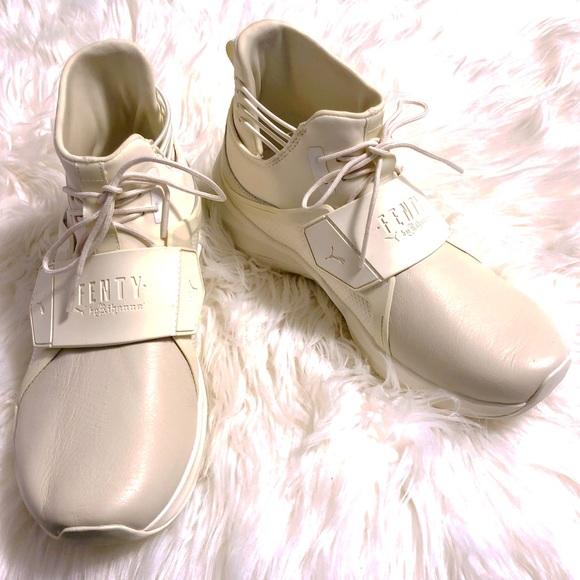 Puma Shoes   Fenty X Rihanna Sesame Hi Trainer   Poshmark b1705d1c31